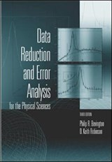 Data Reduction and Error Analysis for the Physical Sciences | Philip R. Bevington |