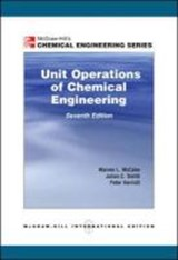 Unit Operations of Chemical Engineering | Warren L. McCabe |