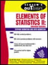 Schaum's Outline of Elements of Statistics II