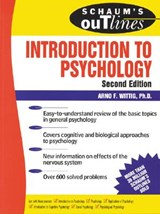 Schaum's Outline of Introduction to Psychology | Arno F. Wittig |