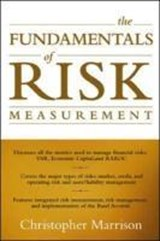 The Fundamentals of Risk Measurement | Christopher Ian Marrison |