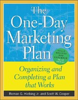 The One-Day Marketing Plan | Roman G. Hiebing |
