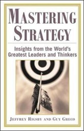 Mastering Strategy | Jeffrey Rigsby |