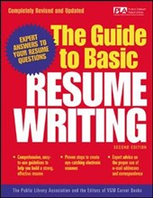 The Guide to Basic Resume Writing | Public Library Association |