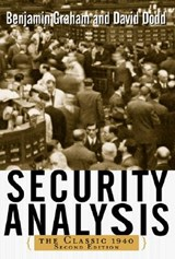 Security Analysis | Benjamin Graham |
