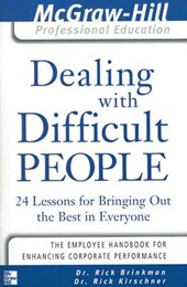 Dealing with Difficult People | Rick Brinkman |