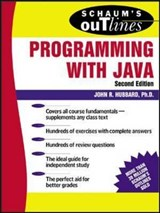 Schaum's Outline of Programming with Java | John R. Hubbard |