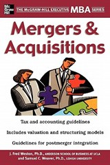 Mergers & Acquisitions | J. Fred Weston |