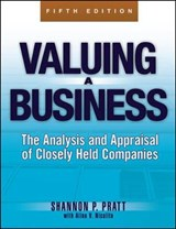 Valuing a Business, 5th Edition | Shannon P. Pratt |