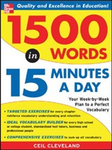1500 Words in 15 Minutes a Day | Ceil Cleveland |