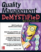 Quality Management Demystified | Sid Kemp |