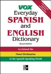 Vox Everyday Spanish and English Dictionary