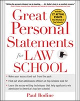 Great Personal Statements for Law School | Paul Bodine |