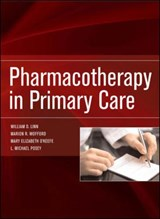 Pharmacotherapy in Primary Care | William Linn |