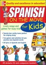 Spanish On The Move For Kids (1CD + Guide) | Catherine Bruzzone |
