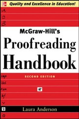 McGraw-Hill's Proofreading Handbook | Laura Killen Anderson |