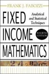 Fixed Income Mathematics,