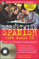 Streetwise Spanish (Book + 1cd) | Mary Mcvey Gill |