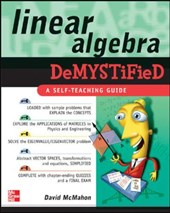 Linear Algebra Demystified | David McMahon |