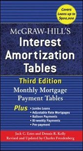 Mcgraw-hill's Interest Amortization Tables