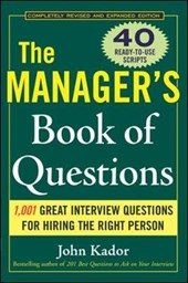 The Manager's Book of Questions | John Kador |