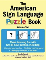 The American Sign Language Puzzle Book, Volume | Justin Segal |