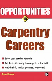 Opportunities in Carpentry Careers