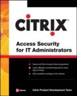 Citrix Access Security for IT Administrators |  |