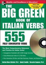 Big Green Book of Italian Verbs | auteur onbekend |
