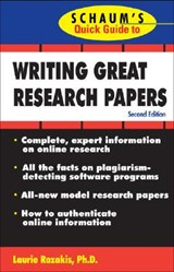 Writing Great Research Papers | Laurie Rozakis |