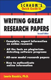 Writing Great Research Papers