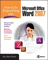 How to Do Everything with Microsoft Office Word | Guy Hart-Davis |