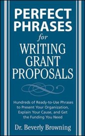 Perfect Phrases for Writing Grant Proposals | Browning |
