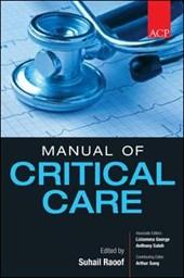 ACP Manual of Critical Care