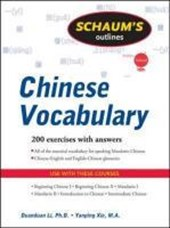 Schaum's Outlines Chinese Vocabulary
