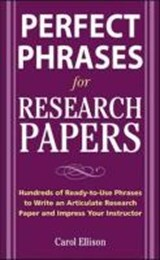 McGraw-Hill's Concise Guide to Writing Research Papers | Carol Ellison |