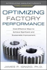 Optimizing Factory Performance | James P. Ignizio |