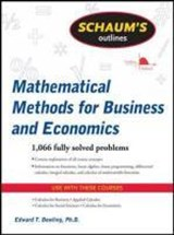 Schaum's Outline of Mathematical Methods for Business and Economics | Edward T. Dowling |