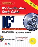 IC3 Internet Core and Computing Certification | Ron Glister |