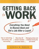Getting Back to Work | Linda K. Swancutt |