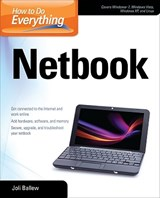 How to Do Everything Netbook | Joli Ballew |