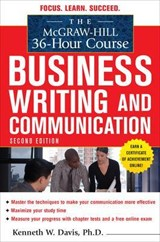 The Mcgraw-hill 36-hour Business Writing and Communication Course | Davis, Kenneth W., Ph.D. |