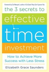 The 3 Secrets to Effective Time Investment | Elizabeth Grace Saunders |