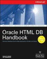 Oracle HTML DB Handbook | Lawrence Linnemeyer |