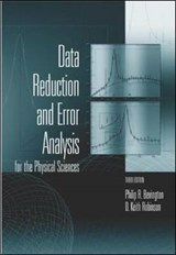Data Reduction and Error Analysis for the Physical Sciences | Philip Bevington |