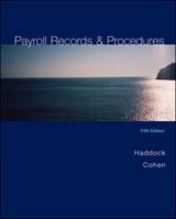 Payroll Records & Procedures | Haddock, M. David; Cohen, Sherry |