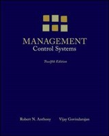 Management Control Systems | Anthony, Robert N. ; Govindarajan, Vijay |