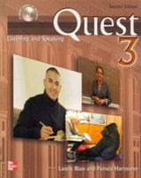 Quest Level 3 Listening and Speaking Audio CD (8) | Laurie Blass |