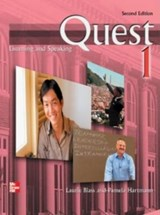 Quest Level 1 Listening and Speaking Audio CDs (4) | Laurie Blass |