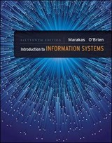 Introduction to Information Systems | Marakas, George M. ; O'brien, James A. |